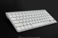 Hot New 1pc Wireless Bluetooth White Keyboard Slim for Apple Windows System iPad Laptop PC 80423 Free Shipping