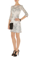 Free shipping 2012 fashion new LACE AND EMBROIDERY COCKTAIL DRESS DN257