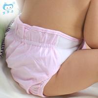 Baby diaper bamboo fibre urine pants diaper pants baby cloth diaper pocket diapers leak-proof breathable