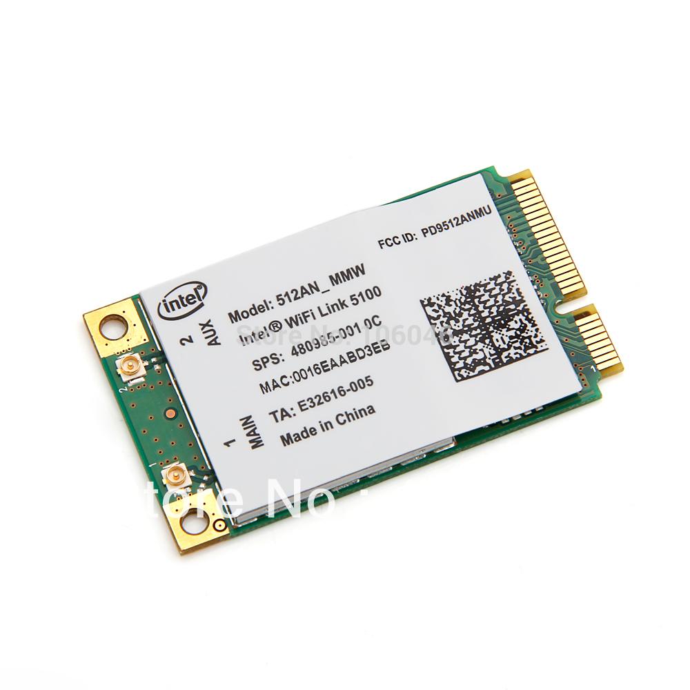 Фото Сетевая карта HP Intel WiFi 5100 300Mbps 802.11a/b/g/n /pci/e 2,4 5,0 512AN_MMW pci e to