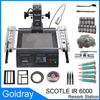 Free shipping Scotle IR6000 IR 6000 BGA Repair Value Bundle Rework Station