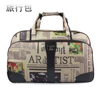 Travel bag female handbag cross-body waterproof luggage large capacity canvas travel bag