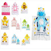 Free shipping kids robe 2-6T baby cute animal  9design