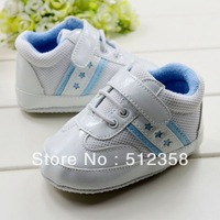 Brand leather star  Baby  shoe,Casual kid  footware ,Soft Sole shoe,Prewalker shoes ,Infant shoes ,6 pairs/lot ,free shiping