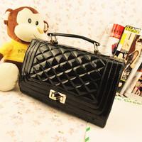 Free shipping Women's handbag fashion vintage plaid chain small bag one shoulder handbag cross-body lady's bag