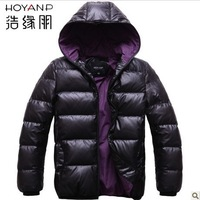 Free shipping, hot sales,  new have  hat  fashion  men's down jacket ,A variety of color and size  0028