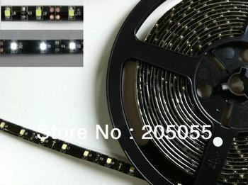 5M 3528SMD 60Leds/Meter IP65 Waterproof Flexible 300 LED Strip Lights black PCB FPC board