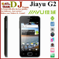 Jiayu G2 android phone 1GB RAM Dual Core MTK6577  GPS WIFI 4 inch capacitive  GPS G4 4.0 1GB RAM black white Koccis