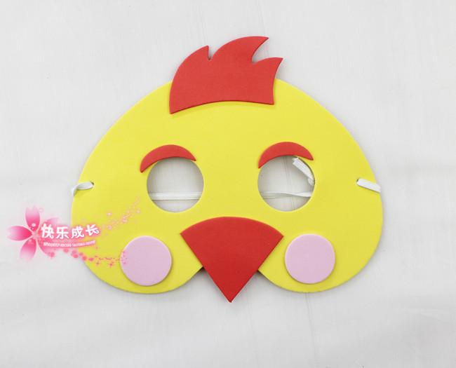 Как сделать маску цыпленка из бумаги своими руками