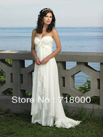 Wholesale!  new in stock popular White/Ivory Prom dresses evening Gown bridal gown Size 6 8 10 12 14 16 custom free shipping