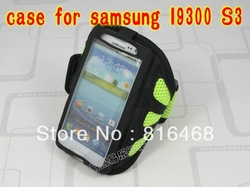 Good quality,Mesh eco-friendly sports running waterproof armband cover case for samsung galaxy s3 siii i9300,free shipping(China (Mainland))