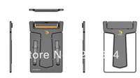 New 10pcs/lot  Ultra-thin Credit card carzor Mini Pocket Smart Razor with Mirror for Man gift (black) Free shipping