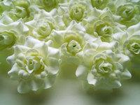 24 Nature  Roses Heads Artificial Silk Flower