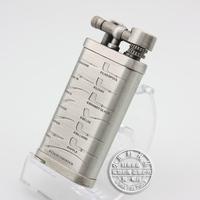 Jifeng smoking pipe lighter flaming lighter dull silver
