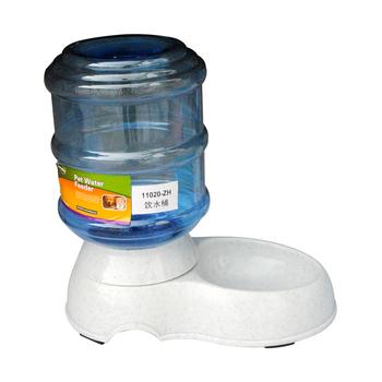 Free shipping Pet water dispenser feeder dog water control dog bowl feeding bucket automatic pet water dispenser 3.5l