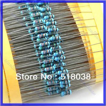 A25free доставка 30 вид 1 / 4 Вт сопротивление 1% резистор металлические пленочные ...