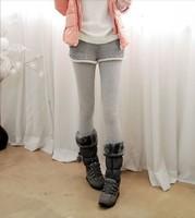 Fashion Short Trousers+Ankle length Legging Suit Unique Design Woman's Pants Soft Cashmere Lady's Magic Legging 3 Colors