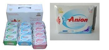 Russian Version Winalite Lovemoon Anion Sanitary napkins, towels,10 packs/lot : free shipping