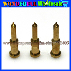 Pure copper 75-5 75-3 bnc gold-plating pin,cold pressing BNC Q9 crimping line gold-plating pin