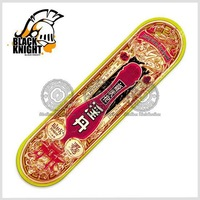 Black knight 7 ply 100%   Canadian maple  skateboard deck--Jam Daan
