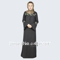 wholesale 2013 fashion high-grade islamic arabic for muslim women clothing Kaftan, Abaya,Arab,Jalabiya, Jilbab Arabic KJ-WAB8054