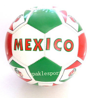 Official  hand sewn football & soccer ball, 2013 football  500pcs/lot, free logo printing