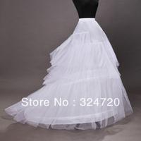 Chapel train wedding dress pannier wedding dress petticoat underskirt crinoline