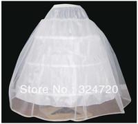 3 hoops wedding petticoat quinceanera crinoline underskirt slip
