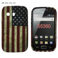 Low price High quality! TPU soft Gel flag case for Samsung Galaxy Y S5360 fast shipping free shipping 20PCS/LOT Galaxy Y case