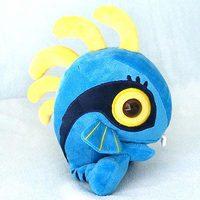 Children's plush toys Wow Baby fish plush toy doll World of Warcraft couple / birthday / graduation gift /