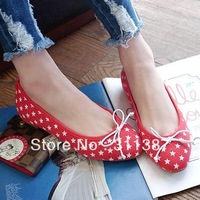 Free shipping 2013 spring new girls fashion ballet flats for women shoes woman casual Ladies sweet cat black apricot SXX32534