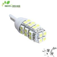 Free Shipping 20pcs/lot  T10 28SMD Backup Reverse Lights RV 12V White Side Marker Light Bulbs 194 168 W5W Car LED Wedge