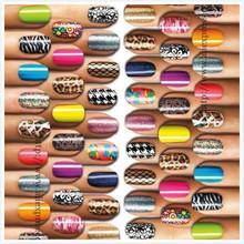 cheap glitter nail sticker