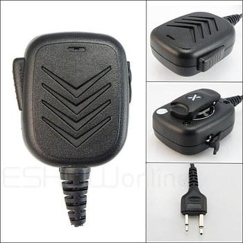 10pcs Handheld Speaker Mic for ICOM F 3 F 3S F 4 F 11/21/24 /43 V8TH7 T 22A Radio Walkie talkie transceiver J0158A Fshow