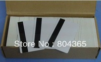 ISO hi-co  white card ,Magnetic strip card pvc blank card
