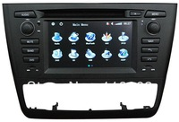 Factory price for BMW 1 series Car DVD E81/E82/E88 GPS Navigation, Headunit Automatic A/C with GPS Radio Bluetooth TV iPod