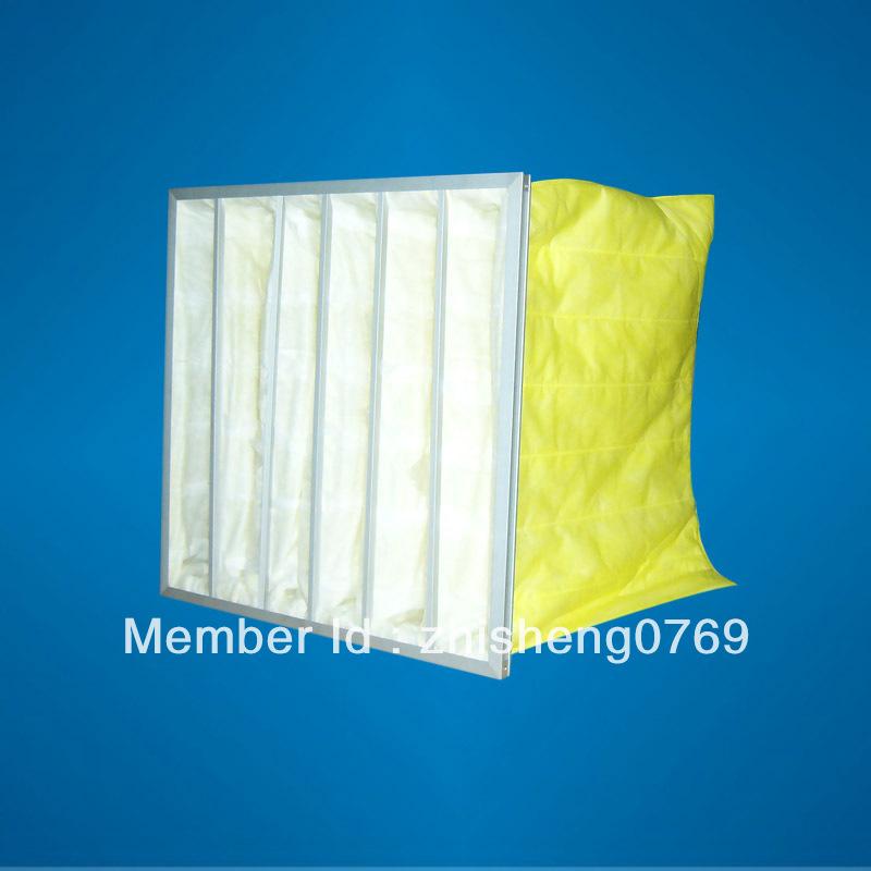 F5 Medium efficiency pocket filter for air conditioning(China (Mainland))