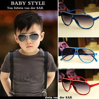 Wholesale Children Vintage fashion large sunglasses child sunglasses anti-uv baby sunglasses