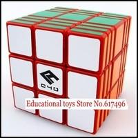 C4U Full Fuction magic cube 337 high quality cube 3x3x7 magic toys-red version