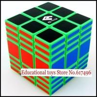 C4U Full Fuction magic cube 337 high quality cube 3x3x7 magic toys-green version