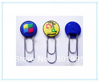 gifts items customize logo artwork KL0954 of 3d pvc paper clips