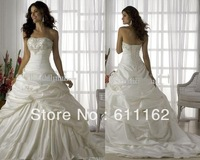 beaded lace applique taffeta bride wedding dress bridal dress bridal gown bridesmaid dress