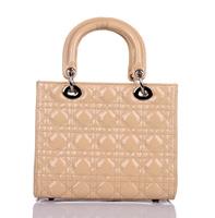 6Colors-- Fashion Good Genuine Polished Vernis Cowhide Leather Chic Lady Small Tote Bag  Casual Handbag,Free shipping