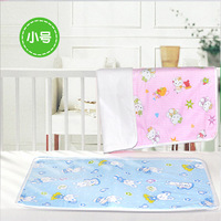 100% cotton infant leak-proof changing towel baby diaper pad waterproof urine towel 100% cotton breathable soft mattress