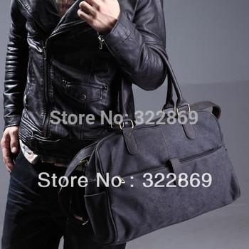 Classic canvas bag male bags handbag messenger  casual commercial travel bag