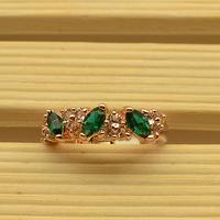Free shipping ITALINA emerald gem crystal fashion 2012 ring female a25