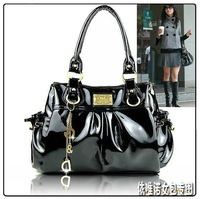 FreeShipping 2013 All-match Popular Pendant PU Leather Women's Shoulder Bags/Handbag/Designer bags