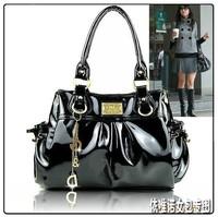 FreeShipping 2013 All-match Popular Pendant PU Leather Women's Shoulder Bags/Handbag/Designer bags