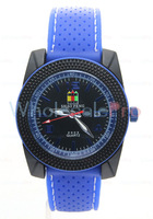 SHAO PENG Quartz Date Stainless Steel 1ATM Water Resistant  Blue Watch Man