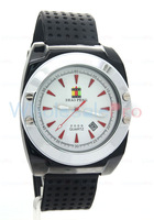 2013 Classic SHAO PENG Quartz Date Stainless Steel 1ATM Water Resistant  White Dial Watch Man